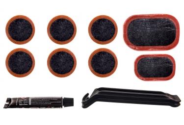 kit de reparation zefal 8 rustines 2 demonte pneus