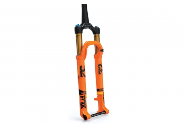 fourche fox racing shox 32 float sc factory fit4 29 kabolt 15x100mm offset 51mm 2018 orange 100