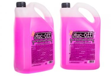 pack de 2 nettoyants muc off bike cleaner biodegradable 5l