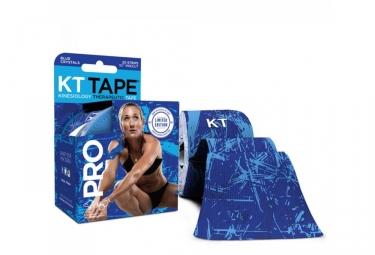 bande predecoupee kt tape pro bleu crystal 20 bandes