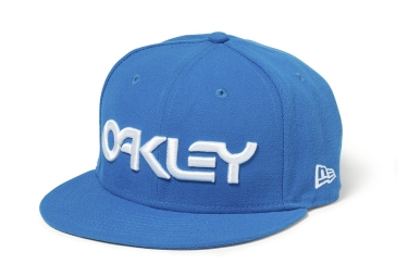 Casquette oakley mark ii novelty bleu
