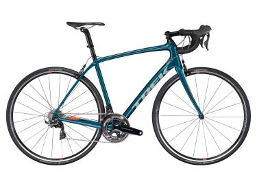 velo de route trek 2017 domane sl 8 shimano dura ace 11v bleu orange 54 cm 167 176 cm