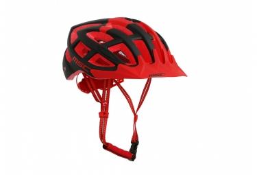 casque vtt msc noir rouge noir s m 55 58 cm