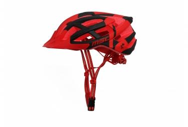 casque vtt msc noir rouge noir l xl 58 61 cm