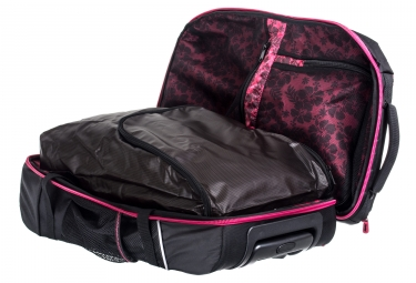 zoot sac a roulettes ultra tri carry on bag 2 0 noir rouge