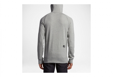sweat a capuche nike sb everett gris l