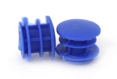 embouts de guidon msc bar caps bleu