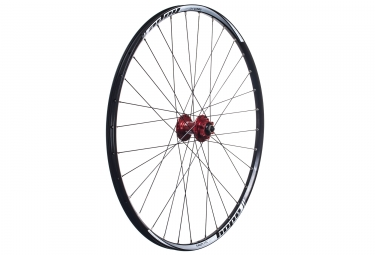 Hope roue avant tech xc pro 4 27 5 15 9x100 mm rouge