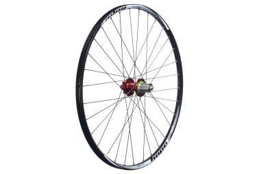 Roue arriere hope tech xc pro 4 27 5 12x142 mm corps shimano sram rouge