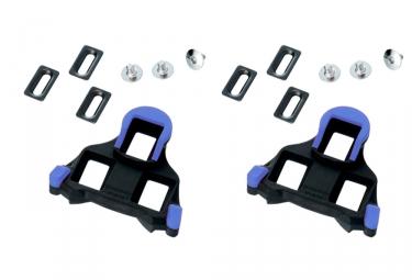 shimano paire de cales route sm sh12 spd sl bleu 2