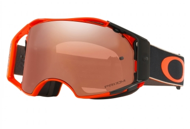 OAKLEY Airbrake MX Ryan Dungey Fast Lines Orange Black - Black Iridium OO7046-52