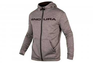 sweat a capuche endura hummvee gris xl