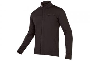 Endura Roubaix Xtract Long Sleeve Jersey Black