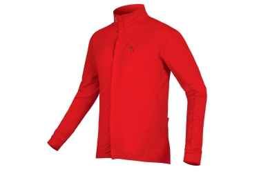 Maillot Manches Longues Endura Roubaix Xtract Rouge