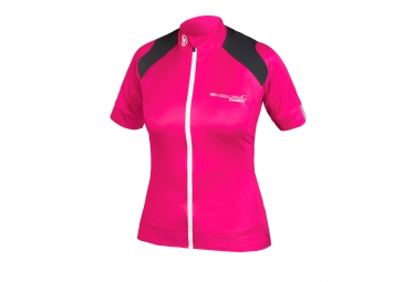 Endura Hyperon Women Short Sleeve Jersey Pink