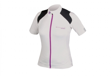 Endura Hyperon Women Short Sleeve Jersey White
