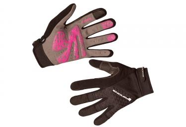 gants longs femme endura hummvee plus noir xs