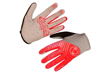 gants longs femme endura hummvee lite orange m