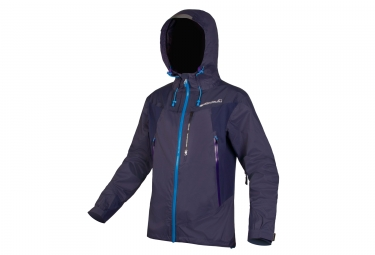 Veste impermeable endura mt500 ii bleu xl