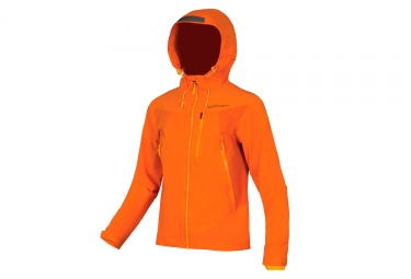 Veste impermeable endura mt500 ii orange s