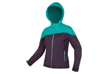 Endura Singletrack Women Softshell Jacket Blue
