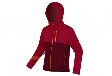 Veste Imperméable Endura Singletrack II Rouge