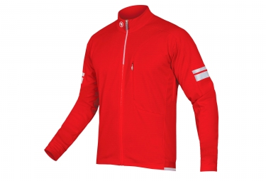 Endura Windchill Windbreaker Jacket Red