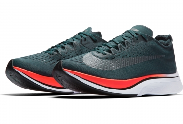 Chaussures de Running Nike Zoom Vaporfly 4% Vert / Orange