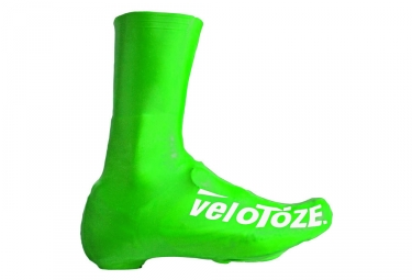 velotoze couvres chaussures haut t dgg 005 latex vert 43 46