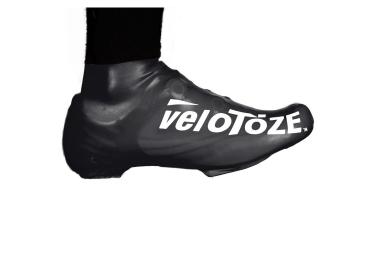 VELOTOZE Couvres Chaussures Bas S-BLK-001 Latex Noir