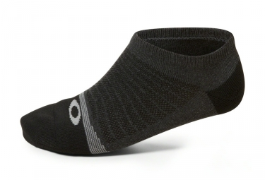 x2 paires de chaussettes oakley lightweight high performance noir 40 44
