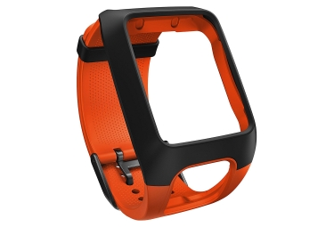 bracelet de rechange tomtom runner 2 3 adventurer spark taille large orange