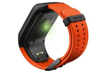 bracelet de rechange tomtom runner 2 3 adventurer spark taille large orange