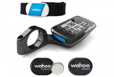 compteur gps wahoo fitness elemnt bolt bundle