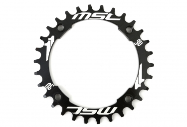 MSC Chainring CNC Alu 7075 4 bolts 104mm XX1 Type