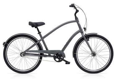 electra beach cruiser townie original 3i eq satin graphite