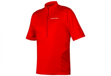 Maillot Manches Courtes Endura Hummvee Rouge