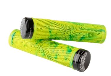 dartmoor paire de grips maze bleu vert