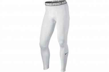collant de compression nike pro blanc homme m