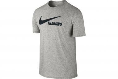 maillot homme nike swoosh gris m