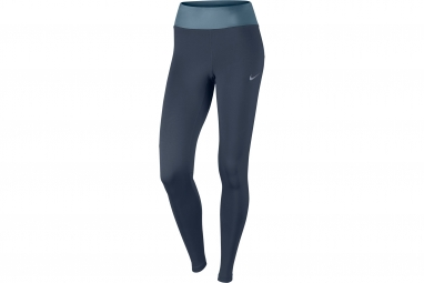 collant long femme nike essential bleu xs