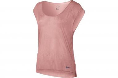 Nike Breathe Women's Top Red