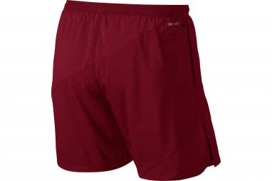 Short Nike Distance Rouge Homme