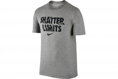 maillot nike dry training gris xl
