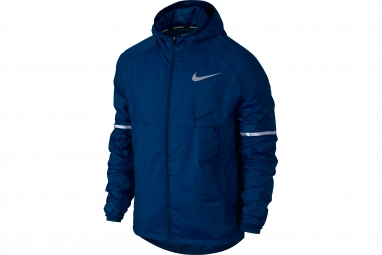 veste homme nike shield bleu xl