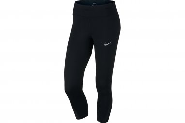 collant long femme nike power noir m