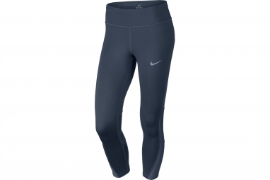 collant long femme nike power bleu s