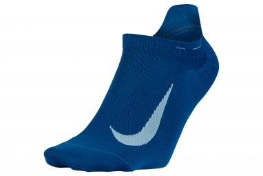 paire de chaussettes nike elite lightweight bleu 41 43