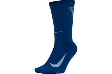 paire de chaussettes nike elite lightweight crew bleu 38 41