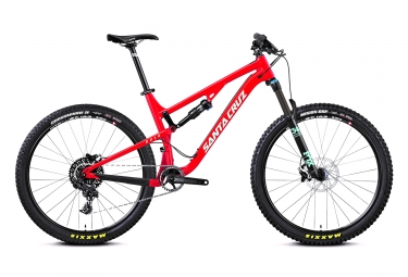 velo tout suspendu santa cruz 5010 2 alu 27 5 sram nx 11v fox float 34 performance r